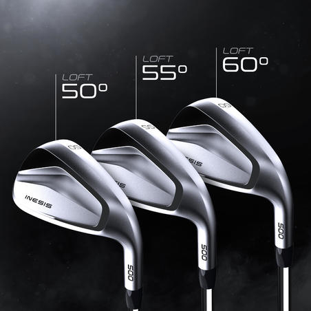 GOLF WEDGE 500 RIGHT-HANDED SIZE 2 & FAST SWING SPEED