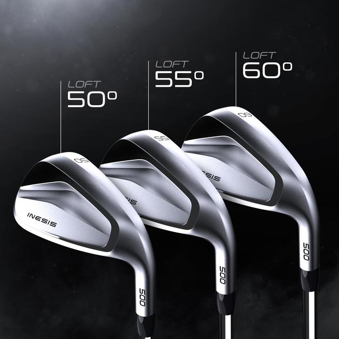 WEDGE GOLF 500 DROITIER TAILLE 1 & VITESSE LENTE