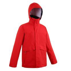 保暖外套100-紅色