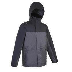 保暖外套100-黑色/灰色