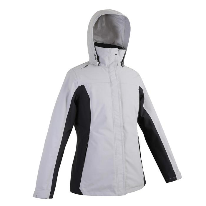 女款保暖外套100-灰色