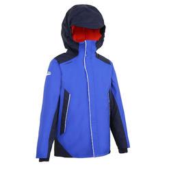 男童款保暖雨衣100-藍色/軍藍色