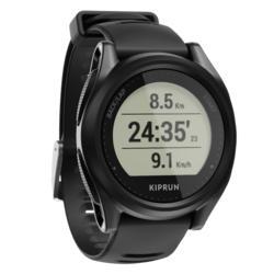 Reloj GPS Multideporte KIPRUN 500 Negro