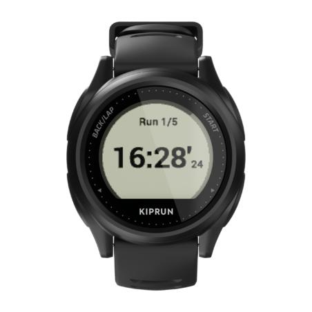 RUNNING GPS WATCH KIPRUN GPS 500 - BLACK