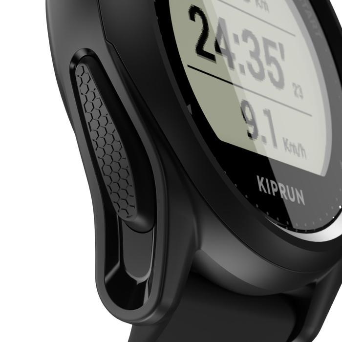 Hardloophorloge met gps Kiprun GPS 500 zwart