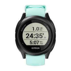 Hardloophorloge met gps Kiprun GPS 500 zwart/watergroen