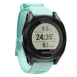 Reloj GPS Running Kiprun 500 Negro/Verde