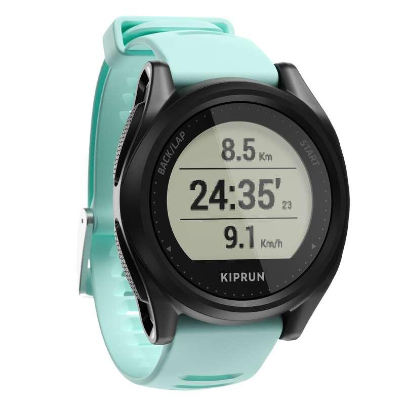 RELÓGIOS GPS CORRIDA Relógios, GPS, Monitores Atividade - RELÓGIO KIPRUN 500 PRETO/VERDE KIPRUN - Relógios, GPS, Monitores Atividade