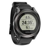 שעון יד Kiprun GPS 550 להשגחת דופק - שחור