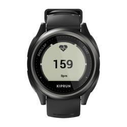 MONTRE GPS CARDIO AU POIGNET DE RUNNING KIPRUN GPS 550 NOIRE