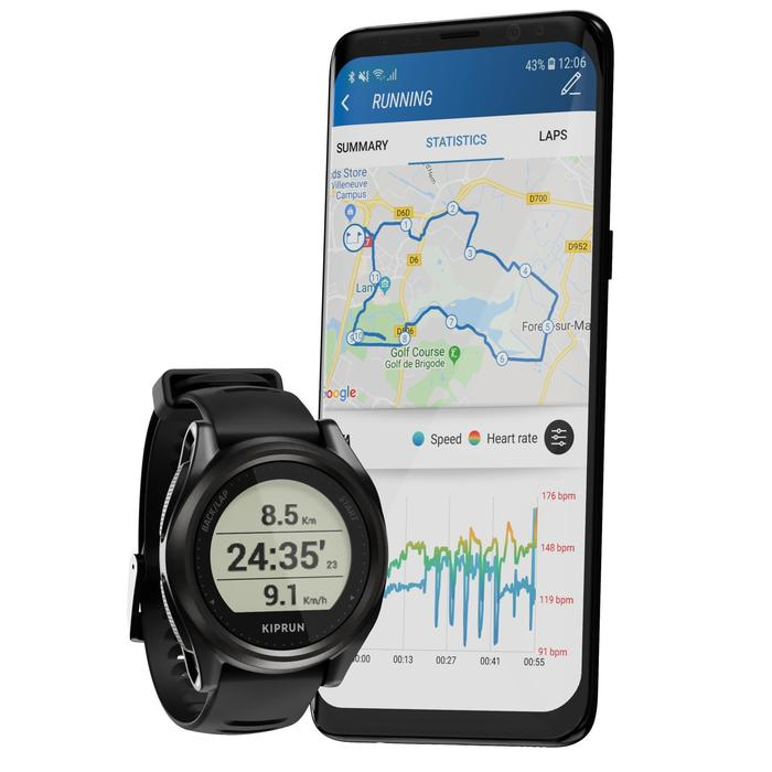 Montre de running GPS et cardio au poignet Kiprun GPS onmove 550