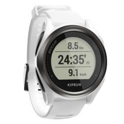 Orologio gps running KIPRUN GPS 550 cardio al polso bianco