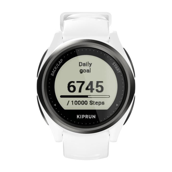 Hardloophorloge met gps en hartslagmeting aan de pols Kiprun GPS onmove 550