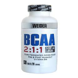 Cápsulas Aminoácidos BCAA x130