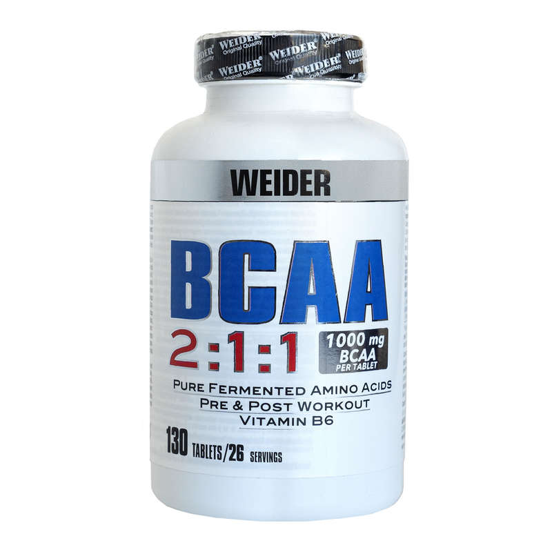 PROTEINS AND SUPPLEMENTS Supplements - BCAA - 130 tablets  WEIDER - Nutrition and Body Care