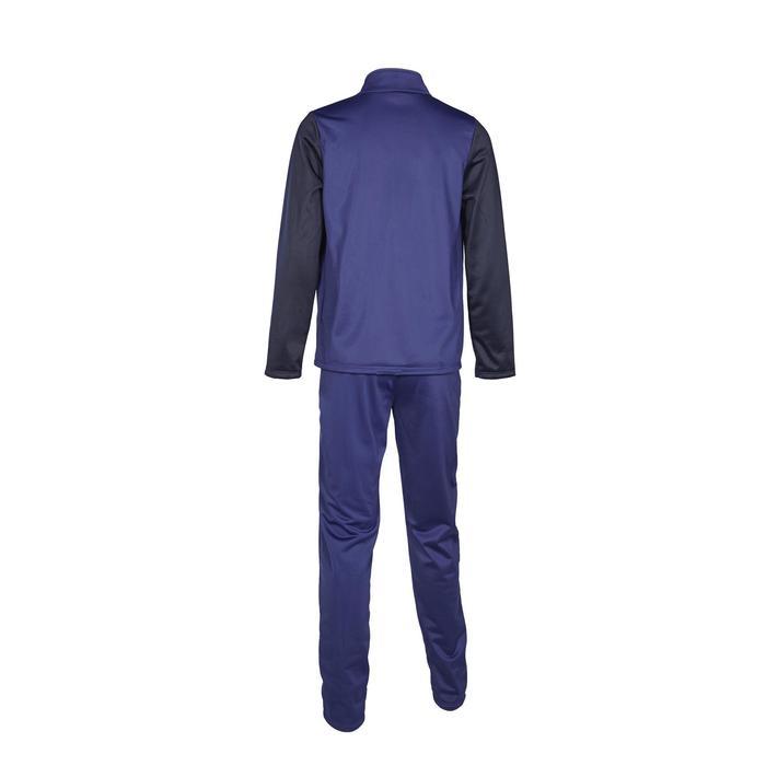 Chándal Gimnasia Domyos GYM'Y S500 Niño Niña 5-15 Años Azul Marino Transpirable