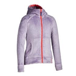 兒童款保暖刷毛外套SH100-灰色