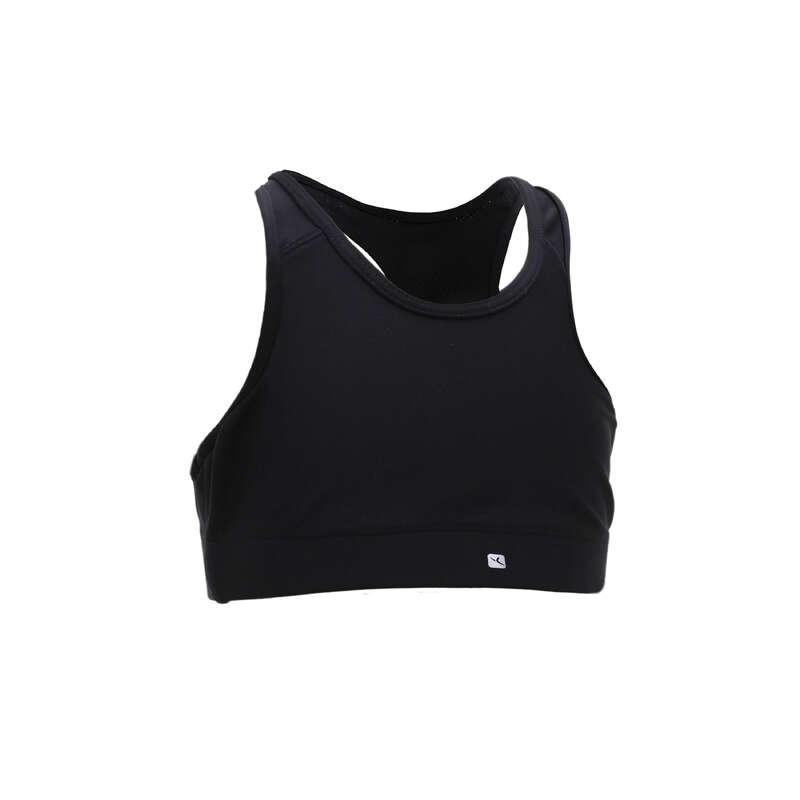 GIRL EDUCATIONAL GYM APPAREL Clothing - Girls' Gym Sports Bra S500 DOMYOS - Underwear
