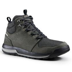NH500 Men's Waterproof Hiking Shoes - Grey
