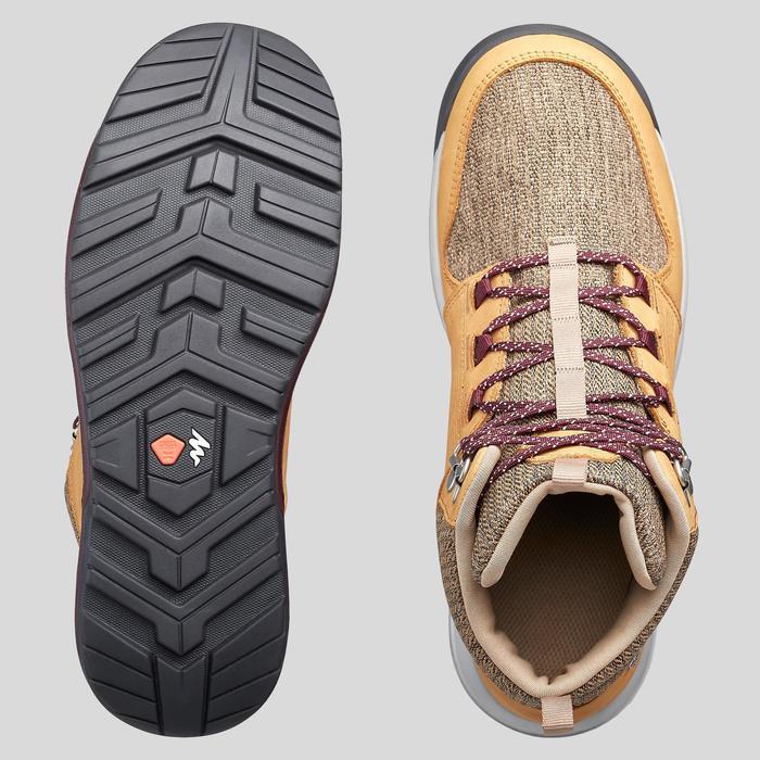 女款中筒防水郊野健行鞋NH500