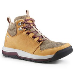 Women's Waterproof Country Walking Shoes NH500 Mid WP