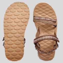 T100 Women's Walking Sandals - Brown