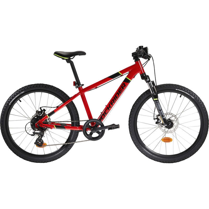 KIDS MTB BIKES 6-12 YEARS Cycling - Rockrider ST 900 Kids Alloy Mountain Bike - 24