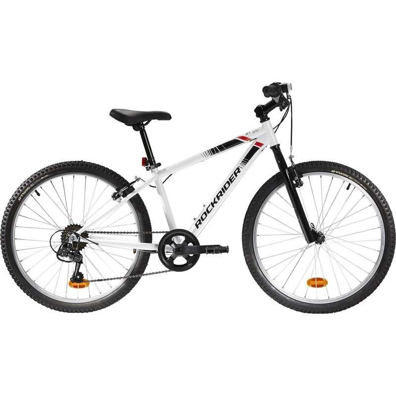 MOUNTAINBIKES JUNIOR 6-12 ÅR Cykelsport - MTB ROCKRIDER ST 100 9-12 år BTWIN - Cykelsport
