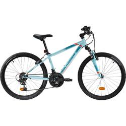 Bicicleta Niños Rockrider ST 500 24 Pulgadas 9-12 Años Azul