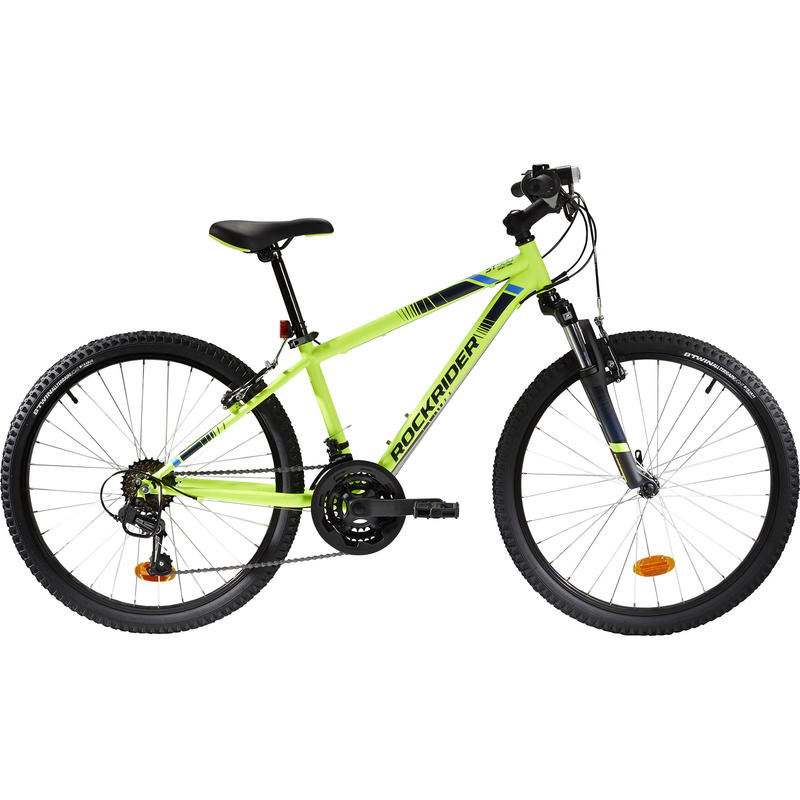 "Rockrider ST 500 24"" Mountain Bike – Kids 9–12 Years"