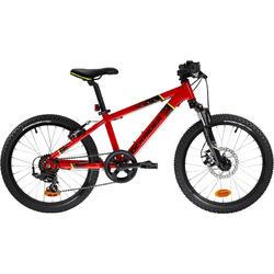 Mountainbike Kinderfahrrad 20 Zoll Rockrider ST900 rot