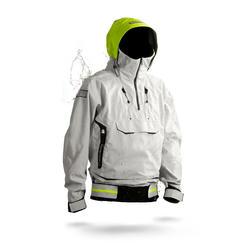 Zeiljas heren smock jacket voor wedstrijdzeilen Offshore 900 grijs
