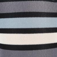 100 Adult Horseback Riding Socks - Black/Grey Stripes
