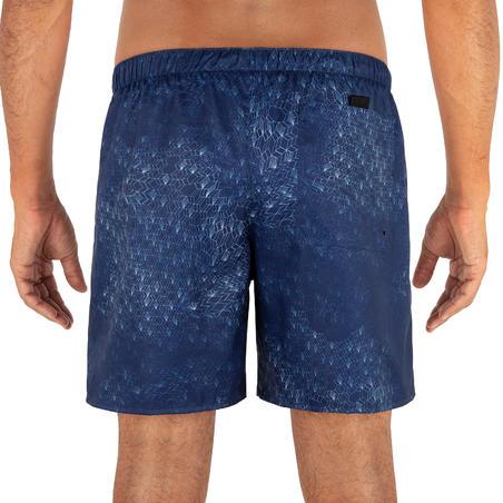 Surfing Short Boardshorts 100 - Dimension Blue