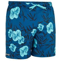 Plavi kratki šorts za surfovanje 100 PSYCHO JAP PETROL