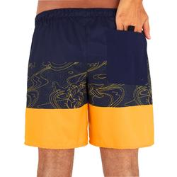 Surfing Short Boardshorts 100 - Blockoi Orange