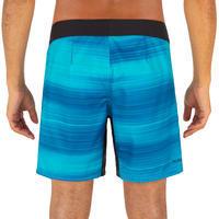 Surf boardshort court 500 fast blue