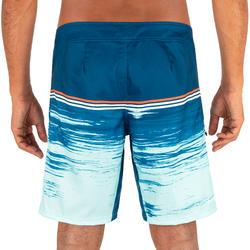 標準衝浪褲500-游離款靛藍色