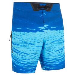 Calções de Praia standard surf 900 trash azul