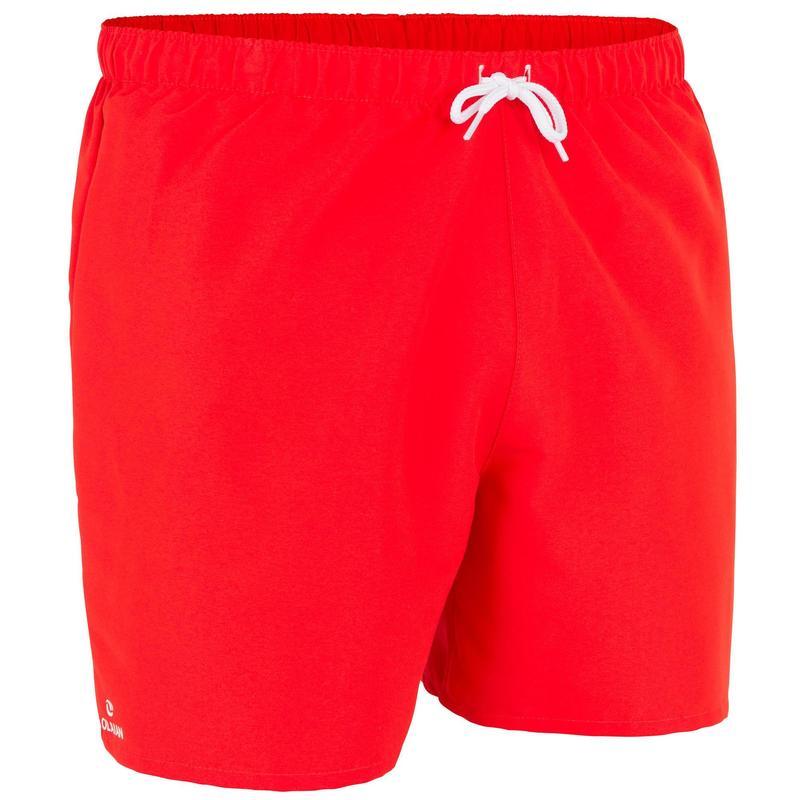 Costume mare uomo HENDAIA rosso corto