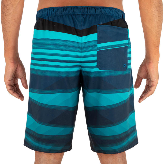 Surfing Long Boardshorts 100 - Camada Blue