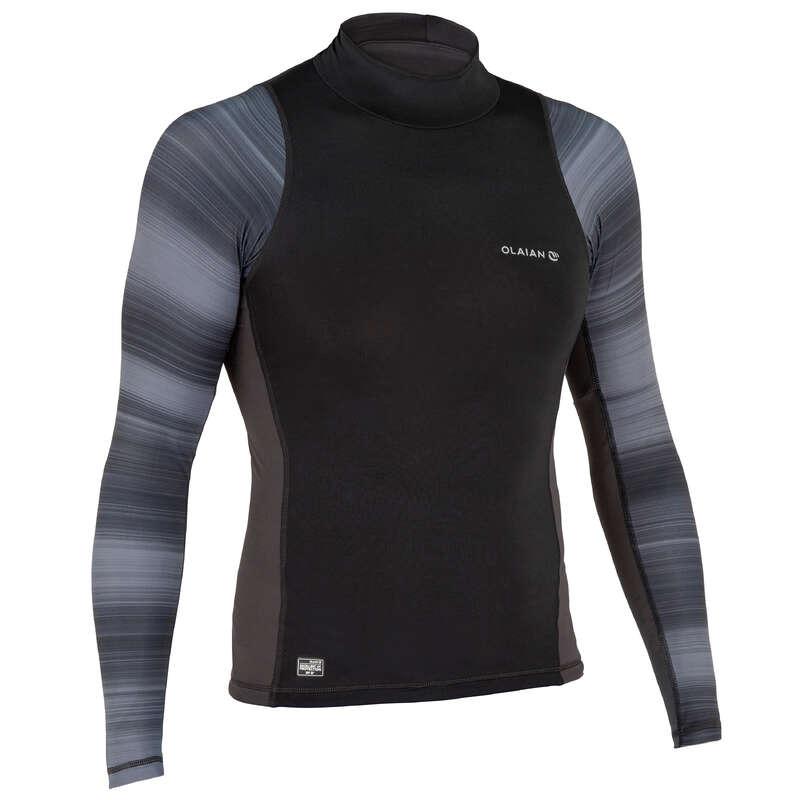 UV-Schutz Herren Surfen - UV-Shirt Top 500S Herren OLAIAN - Surf- und Strandbekleidung