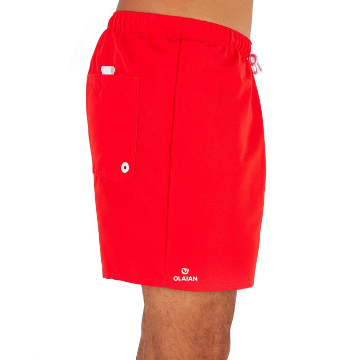 Boardshort court Hendaia NT rouge
