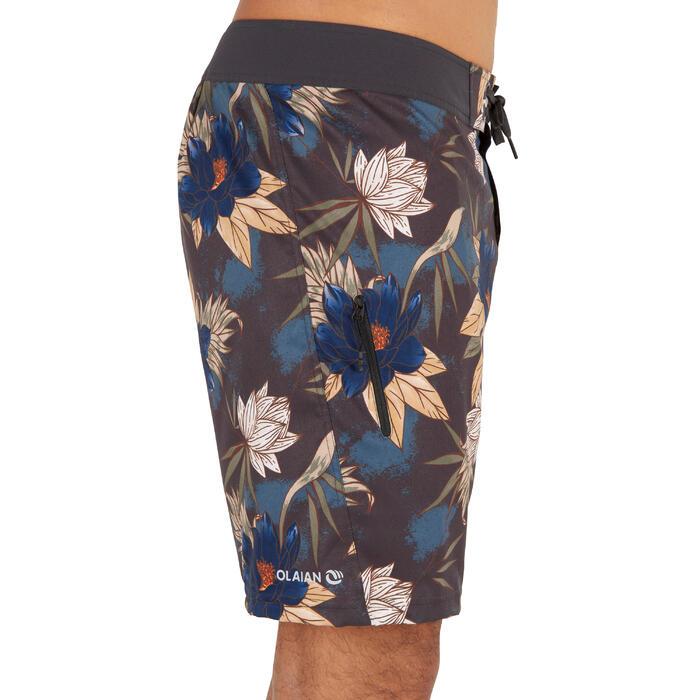 標準衝浪褲500-花卉叢林款