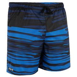 Calções de Praia Curtos Homem Surf 100 Brush azul