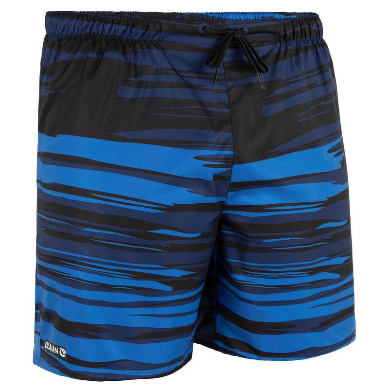 Pánské surfařské kraťasy 100 Brush Blue