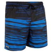 Surfing Short Boardshorts 100 - Brush Blue