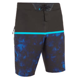 Surf boardshort Long 900 constrat blue