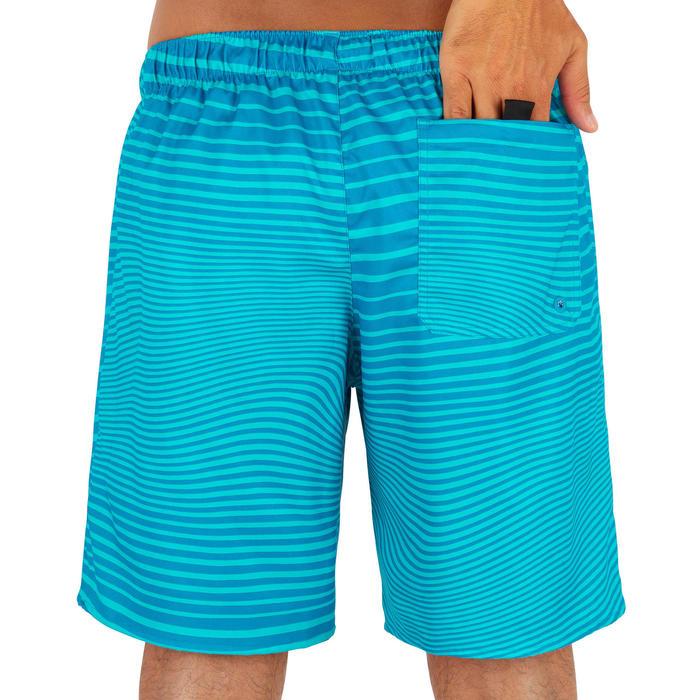 標準衝浪褲100-綠色線條款