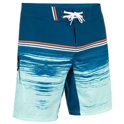 Zwembroek heren 500 Radical petrolblauw